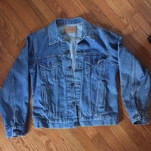 Vintage Levi's trucker denim jacket size large